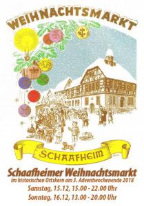 Weihnachtsmarkt Schaafheim @ Rund ums Rathaus | Schaafheim | Hessen | Deutschland