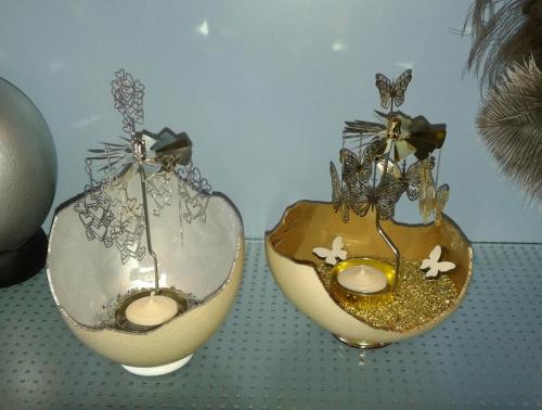 Teelicht Turbine Gold Silber
