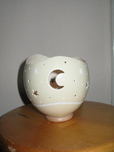 Teelicht Mond
