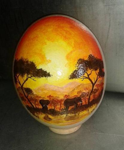 Bemalte Eier - Savanne-Elefanten1.jpg