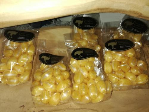 Straußeneierlikör-Bonbons